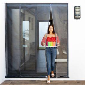 Moustiquaire pour baie vitrée