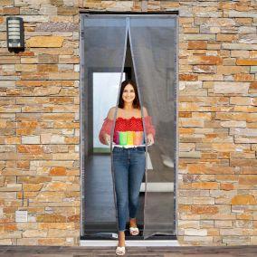 Moustiquaire pour porte et porte-fenêtre