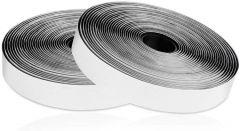 Velcro adhésif gris de 2cm pour installation moustiquaire