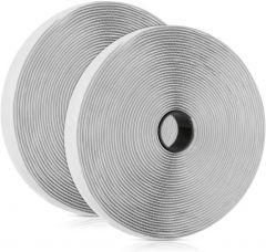 Scratch adhésif blanc de 2cm pour installation moustiquaire
