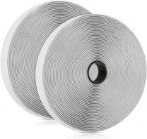 Velcro adhésif blanc de 2cm pour installation moustiquaire