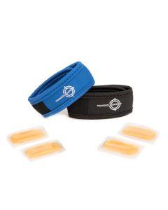 Bracelets anti moustiques TRANQUILISAFE + recharges aux huiles essentielles