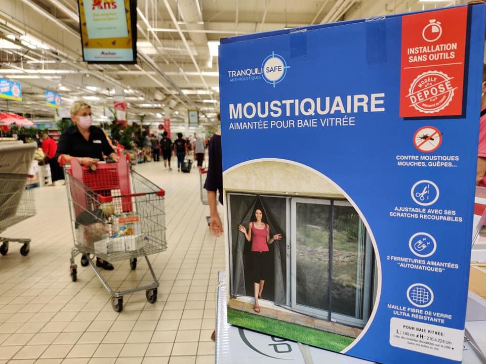 Tranquilisafe débarque chez Auchan Aubagne