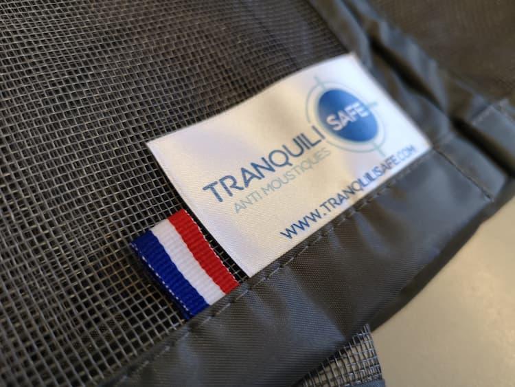 Moustiquaire Tranquilisafe made in France fait à l'ESAT de GAP