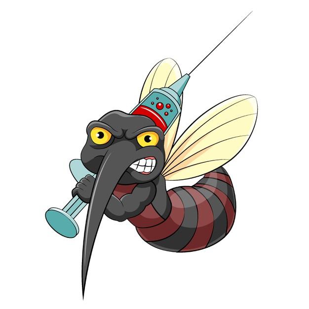 moustique qui va piquer